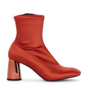Free People Rust Spectrum Stretch Sock Boots NIB